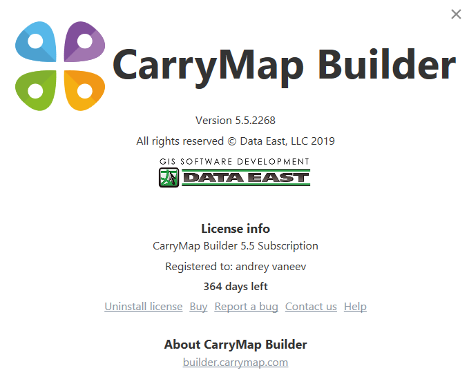 New CarryMap Builder released!